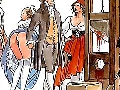 De beroemde erotische Bolero van Manara en Ravel