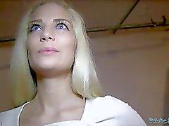 Public Agent POV Blonde Babe Creampie (HUUU)