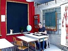 Teeny Geil auf den Lehrer tyska