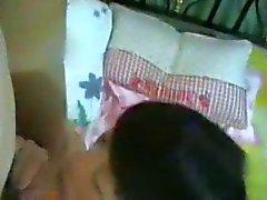 Amateur Chinese MILF en dochter Threesome 4