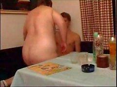Glücklich Junghengst bekommt seinem reifen Mutters Fett Snatch hämmern