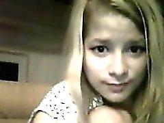 Sweet Blonde Romanian Teasing