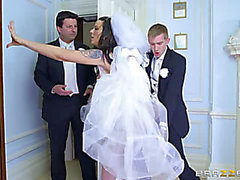 Simony Diamond threatening-fearsome Large Wazoo Wedding Day