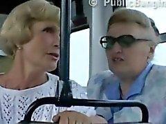 Sexo en publico del bus de la ciudad