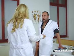 Nikky Thorne and Cherry Kiss, Assfucked Nurses
