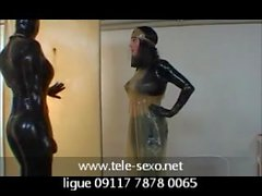 Extreme Latex Fetich tele-sexo 09117 7878 0065