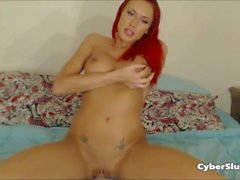 Gorgeous Redhead Goes Hard on her Big ass