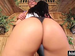 Outdoors pussy drilling with Rose Monroe XXX