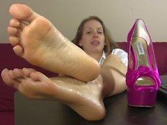 O pé provoca