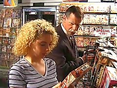 kiki daire in video store