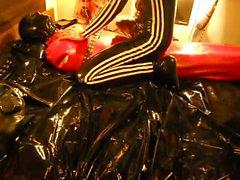 Breathplay Red Latex Bag