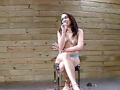 Mouth fucked bound slave gags