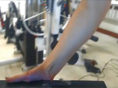 Nude Workout with Vibrator 4 of 5