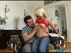 Anal For A Beautiful Blonde Italian Girl