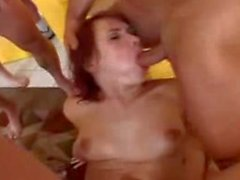 So many cocks for Katja Kassin