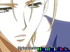 Nette Anime Homosexuell Twink Arsch gerissenen