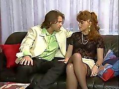 Heike Graf & Kerstin enfermedad de Niemann - Anal y Puño en el orgia