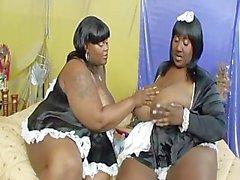 Lesbian BBBW 11. - sahnenin 3.