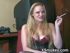 Explicit Smoking Girl Penetrated Hard