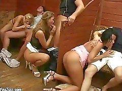 Group Sex Banging