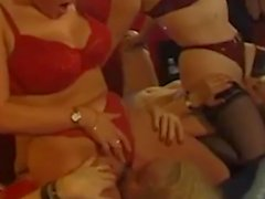 swinger couples enjoying a night together