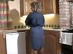 Mature Woman In Pantyhose Masturbates