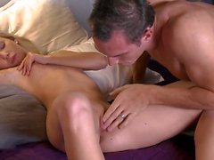 Beautiful Fucking - Athletic Guy with Small Blonde