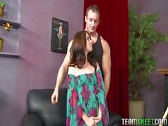 ExxxtraSmall Delgadas adolescente de pequeño Jessi Palmer la follan incondicional