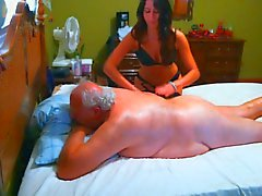 de Vieux chanceux sí mismo consumado masser