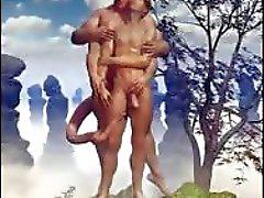 In 3D Bambini maschi dell'esercito e Fantasia gay !