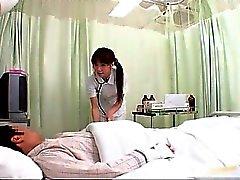Geilen DEU Krankenschwester tut Körpers zu diesem Prüfung Teil 1