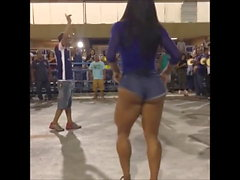 thick Brazilian dancing