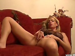 MILF On The Red Couch