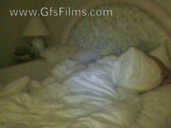 Se réveiller son petit ami avec une sucette humides