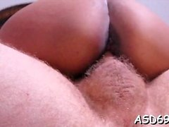 Cock-starved little hotty cannot stop riding this sexy dick