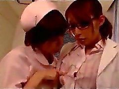 Doctor Getting hänen pillua hierotaan tutti imeskellä Nurse sairaalan