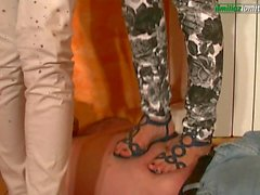 The Plumber Multi Barefoot Trampling