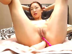 My Cute Asian Neighbor Having Fun