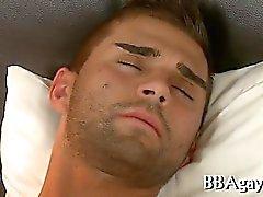Freches Hahn Fahr bei Homosexuell Bolzen