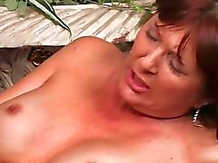 Young guy pussy licking Milf slut