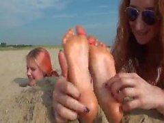 Beach Burial Tickling