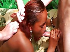 French black woman fucked both ways