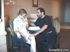 Nasty hot MILF blonde babe gets bondage part6