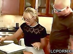 Babe Getting Screwed In The Kitchen!