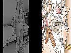 Female Whipping Art Compilation Pt 1