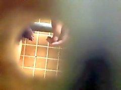 kleines haarig Hahn uncut Versteckte Kamera