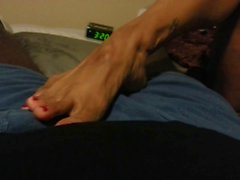 foot teasing by latinas sexy feet 2
