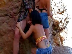 Tropical Jordanne Kali and Lillian relish brutal alpinist`s pretty cock