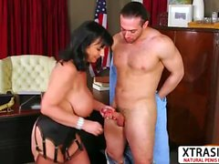 Great Auntie Elektra Lamour Gets nailed Hot Her Bud