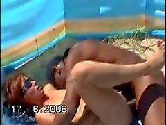Nude Beach - BBC Bareback